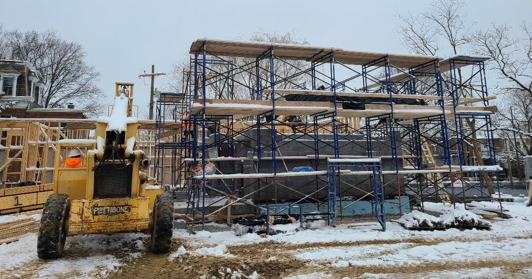 St. Francis Neighborhood Center recently shared some progress photos of their new addition.