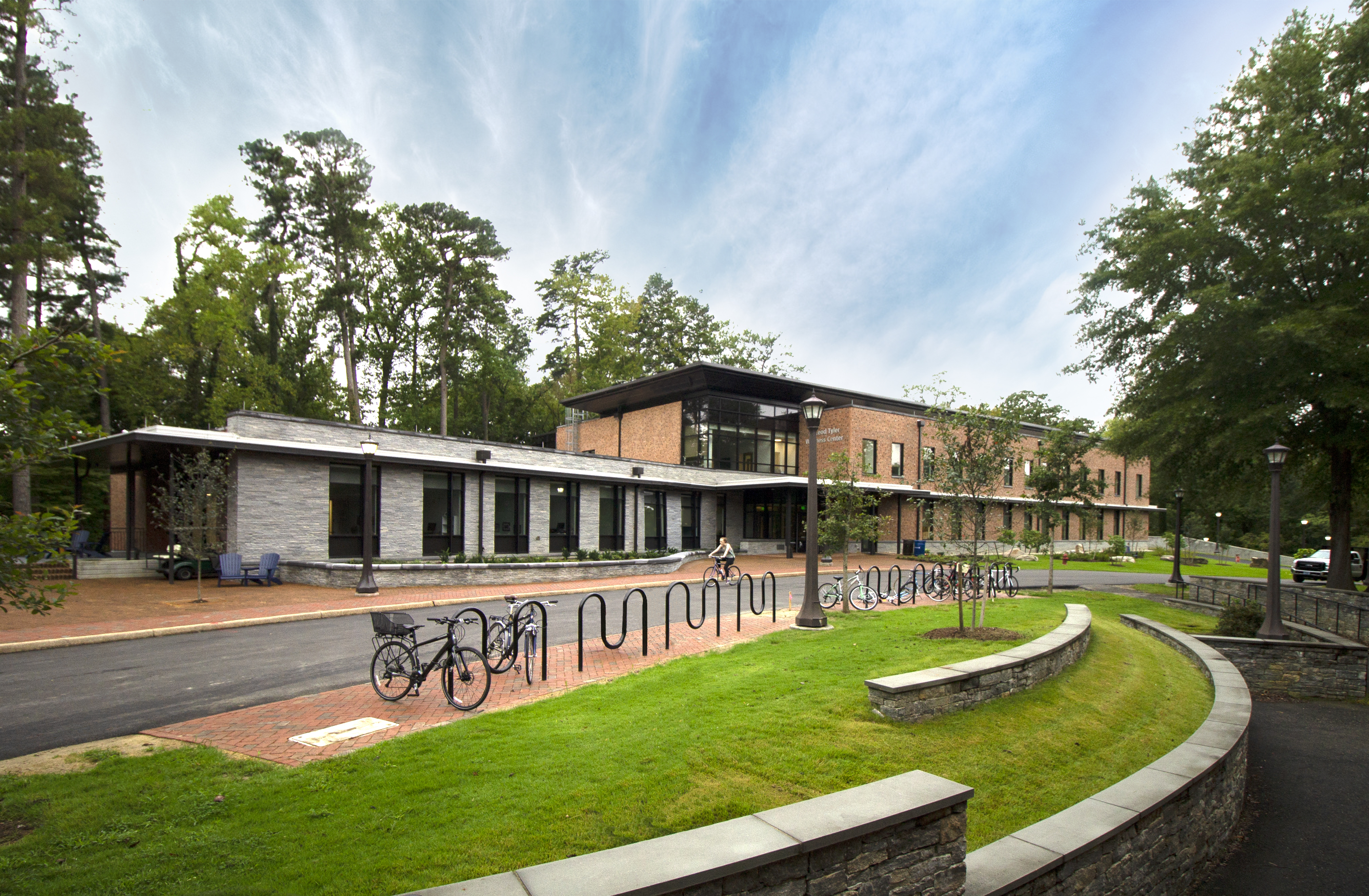 HENRY ADAMS provided the MEP engineering design the integrated wellness center.
