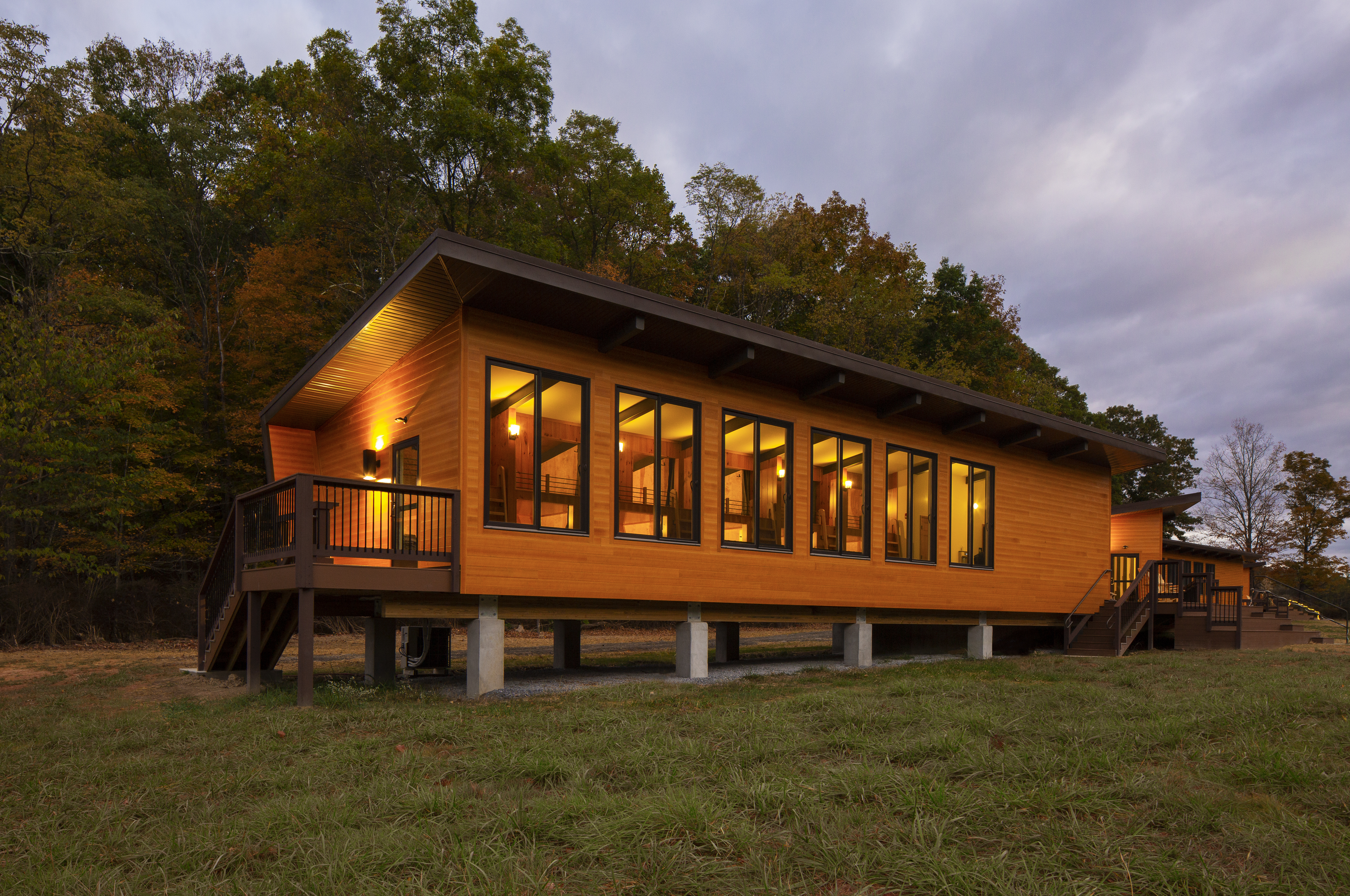 HENRY ADAMS provided the MEP engineering design for the new camp facility.