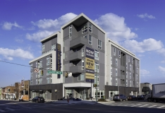 HENRY ADAMS provided the MEP engineering design for the new $12M, 70,000 SF mid rise apartment complex.
