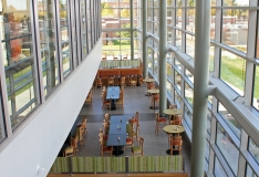 Henry Adams provided the mechanical and electrical engineering design for the new student center.