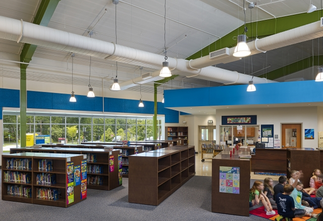 HENRY ADAMS provided the MEP engineering design for the K-12 school.