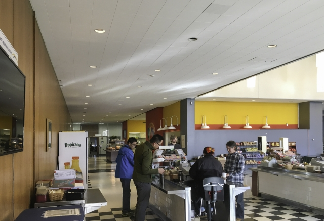 HENRY ADAMS provided the MEP engineering design for the NIST cafeteria renovation and expansion.