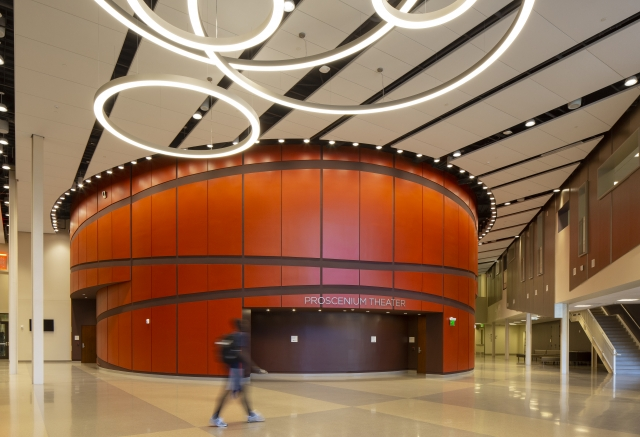 Henry Adams provided the MEP engineering design for the $88M, 173,000 SF, LEED Gold renovation and expansion of the performing arts center.