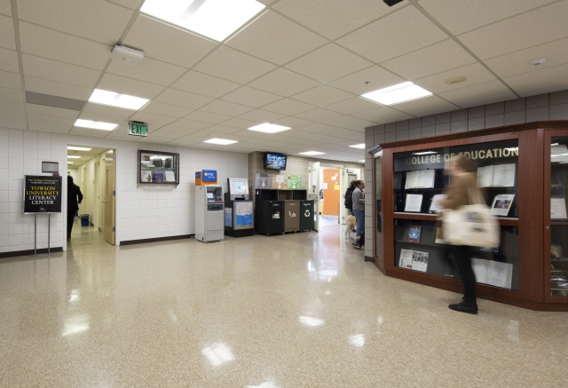 HENRY ADAMS provided the electrical engineering design for the lighting renovation in the academic building.