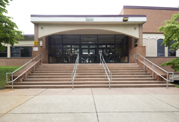 HENRY ADAMS provided the electrical engineering design for the high school.